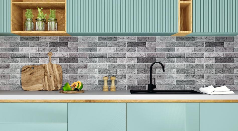 Kuchnia z panelem PVC